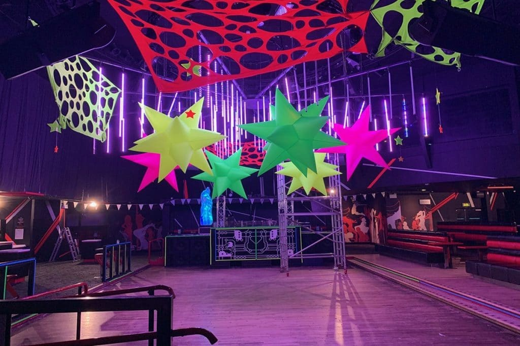 UV party, glow party, uv theme, uv rave, uv parties, glow event, glow theme, glow rave, inflatable stars, uv inflatables, giant uv inflatables, the uk's biggest uv events, uk glow events, uk uv party, uv confetti machine, glow confetti, glow parties uk, uv hire, glow hire