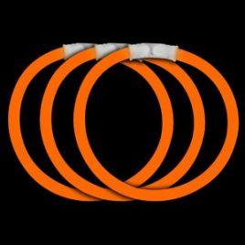 """8"""" Orange Glow Bracelets, Orange Glow Necklaces"""