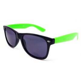 sunglasses black and green,