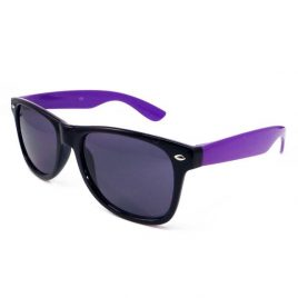 Sunglasses Black and Purple, Two Tone Sun Glasses, Wayfarer Sun Glasses, Black and Purple Sun Glasses, Coloured SunGlasses, Wayfairer, wayfarer glasses, coloured wayfarer.