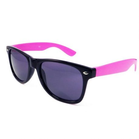 sunglasses black and pink, Two Tone Sun Glasses. Black frames with Pink Arms, Wayfarer Sun Glasses, Black and Pink Sun Glasses, Coloured SunGlasses, Wayfairer, wayfarer glasses, coloured wayfarer.