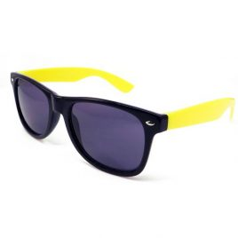 Sunglasses Black and Yellow, Two Tone Yellow Sun Glasses, Wayfarer Sun Glasses, Black and Yellow Sun Glasses, Coloured SunGlasses, Wayfairer, wayfarer glasses, coloured wayfarer.