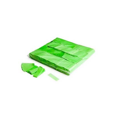 uv green confetti, reactive fluorescent green confetti