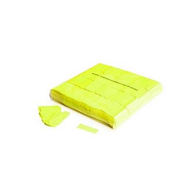 yellow uv confetti, fluorescent yellow uv confetti