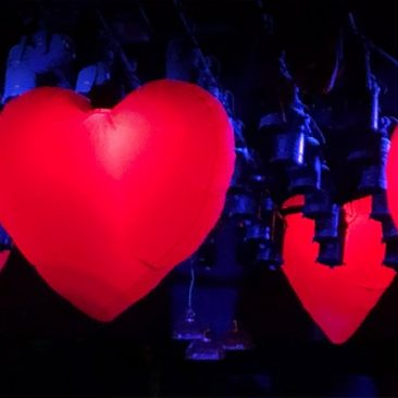 love, Love Party, Love event, love theme, giant inflatable hearts, inflatable hearts, valentine party, valentine theme, club valentine, love theme, valentine party, love takes over.