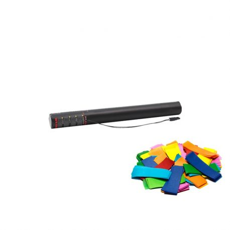 multi colour, confetti cannons, confetti cannon, buy confetti cannon, 50cm confetti blaster, confetti shooter, confetti cannons confetti blasters, electric confetti cannon, electric confetti shooter.