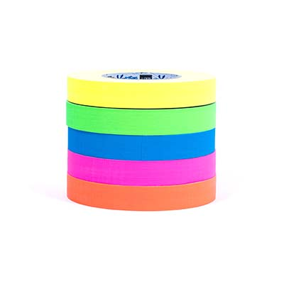 fluorescent 19mm glow tape pack