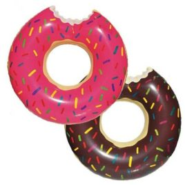 inflatable donuts, Donut inflatable, doughnut inflatable, pink donut inflatable, brown donut inflatable, Party inflatables, cheap inflatables, inflatable beach rings, beach inflatables, inflatable beach rings, beach pool rings, large pool rings.