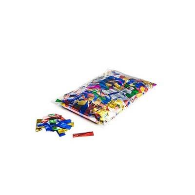 mix confetti, metallic multi coloured confetti flutter fetti
