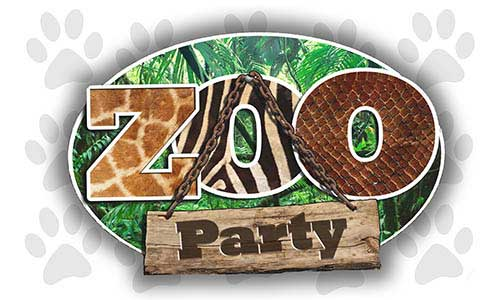 safari zoo themed event supplies, zoo animal safari party decorations