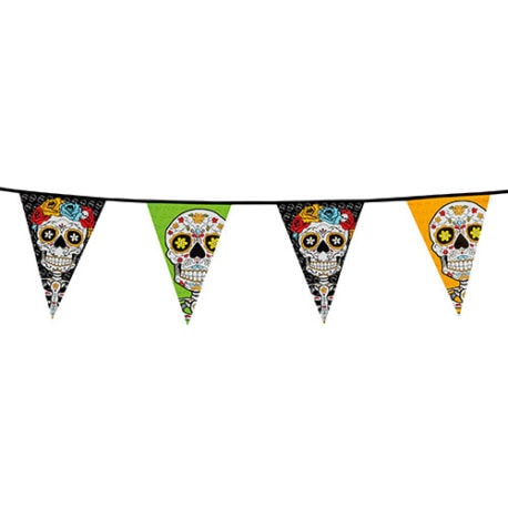 10m Day of the Dead Bunting Garland