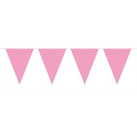 10m Pink Bunting Garland