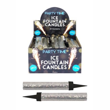 ice fountain VIP candle, vip sparkler, occasion sparkler, fountain candle, vip sparks