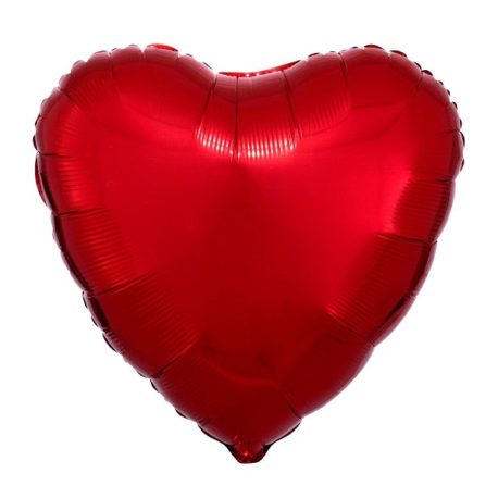 "heart balloon, 18"" giant foil red balloons"