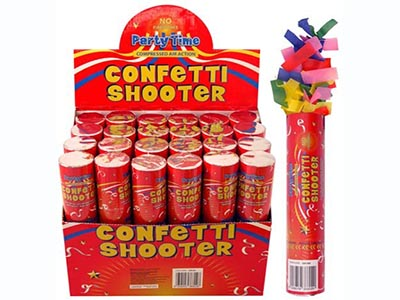 small handheld confetti shooters