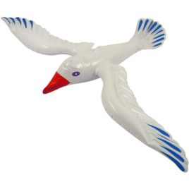 inflatable seagull sea gull bird blow up