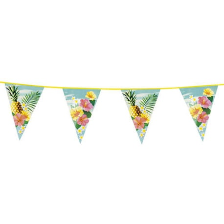 Hawaiian bunting, 6m Hawaii Bunting Garland