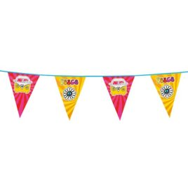 peace and love bunting