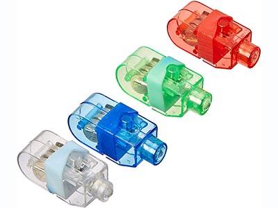 led coloured finger lights