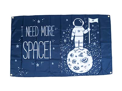 i need more space flags, space party flag
