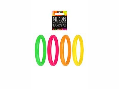 neon coloured wristnbands