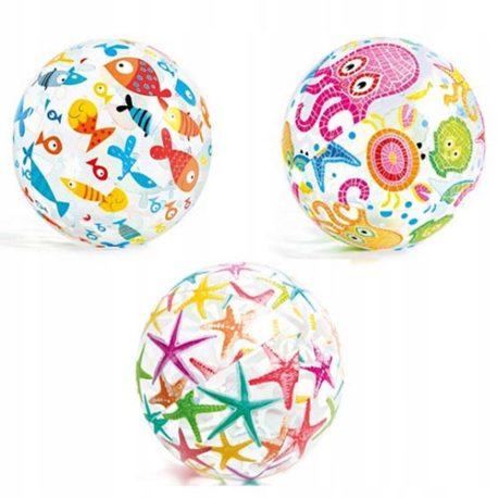 51cm Lively Print Intex Inflatable Beach Ball.