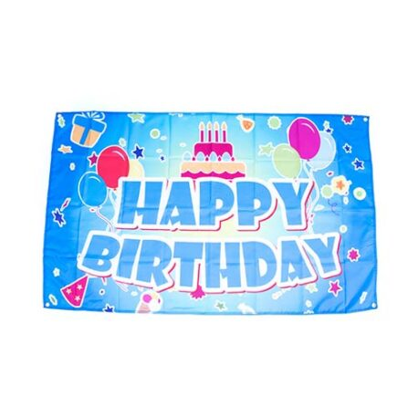 birthday flag, birthday party flag banner, birthday decorations, happy birthday banner