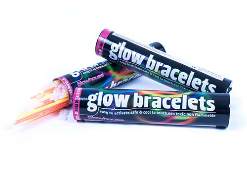 glow bracelets, glow necklaces