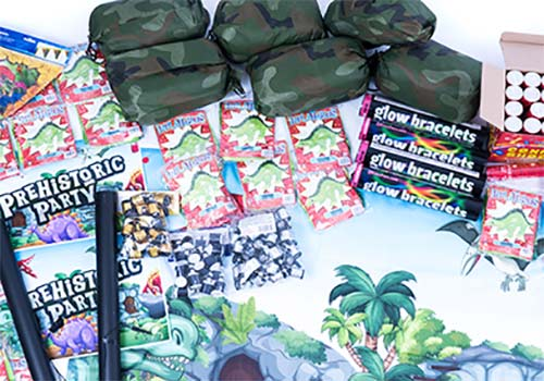 dinosaur theme event supplies