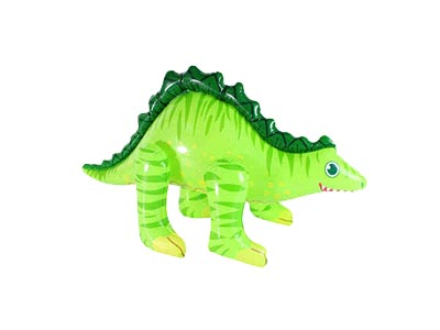 inflatable blow up dinosaur, inflatable stegosaurus
