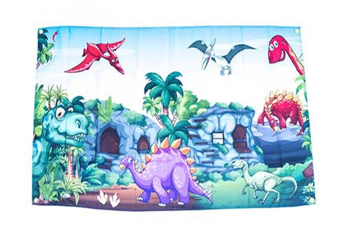 Dinosaur Themed Flags
