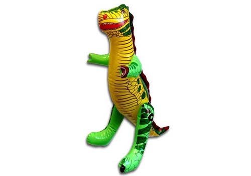 inflatable dinosaur, inflatable t rex