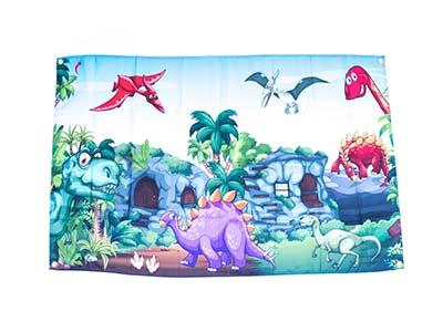 Dinosaur Jurassic Prehistoric Style Flag?