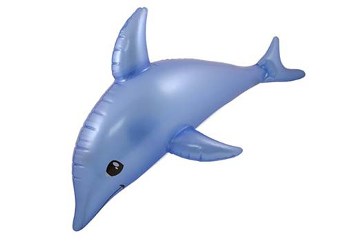 inflatable dolphin, blow up dolphin