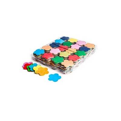 flower coloured confetti