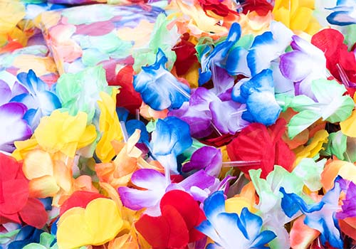 lei, leis summer necklaces