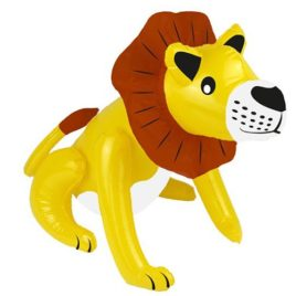 large inflatable lion blow up