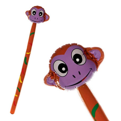 inflatable monkey, monkey inflatable, blow up monkey.