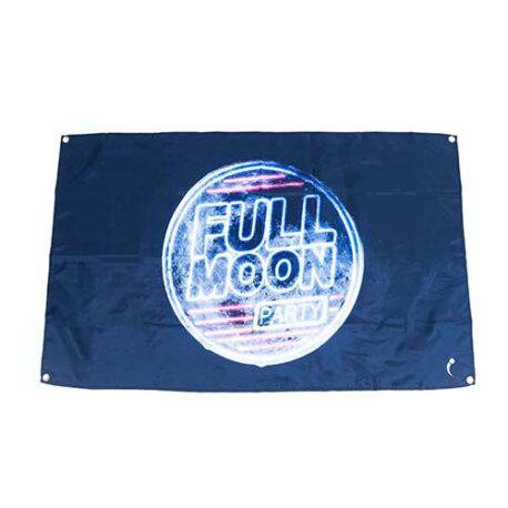 full moon flags, Full Moon Beach Flag, Moon Flag, Full moon party decorations