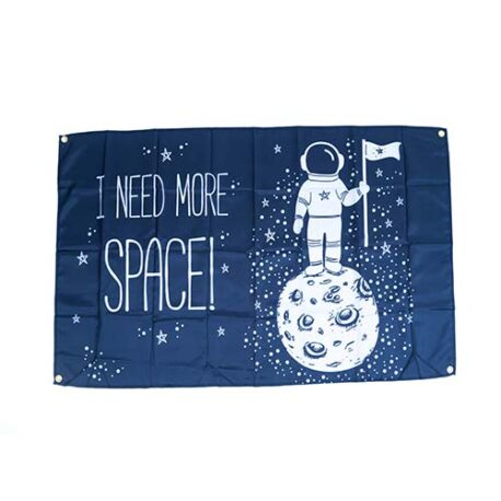 Space Galaxy Flags, space party decorations, kids space party decorations.