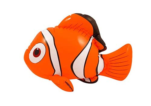 nemo clownfish inflatable