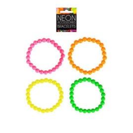 neon bracelets. fluorescent bracelets