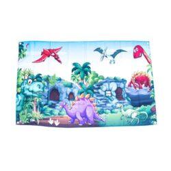 Dinosaur prehistoric flag, Jurassic flag, dinosaur flags