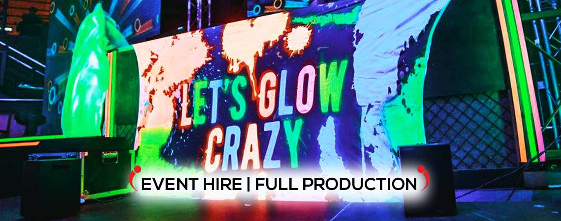 event production, themed events, party supplies and themed event hire.