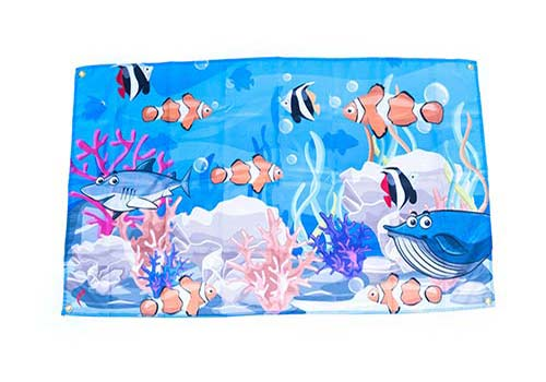 sea party flags
