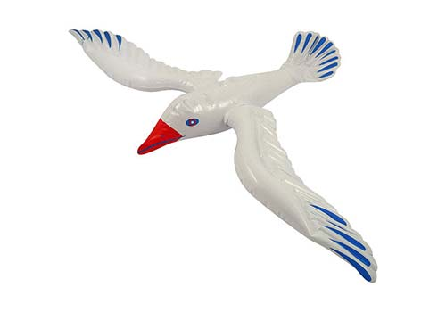 seagull inflatable, beach party decorations