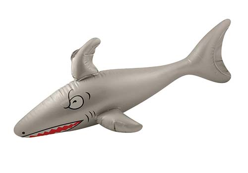 inflatable shark, shark decorations