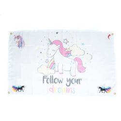 unicorn flags, Unicorn Party Themed Flag, Unicorn Party Decorations, unicorn kids party