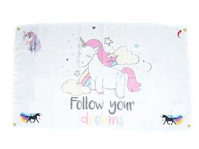 unicorn themed flags, unicorn flags