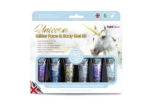 Unicorn Glitter Face Packs